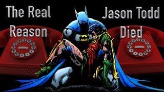 The Real Reason Jason Todd Died