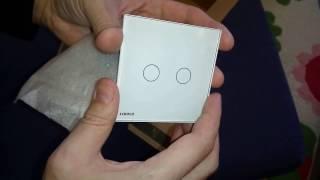 Livolo сенсорный выключатель. Светодиодные лампы. Посылка с AliExpress.