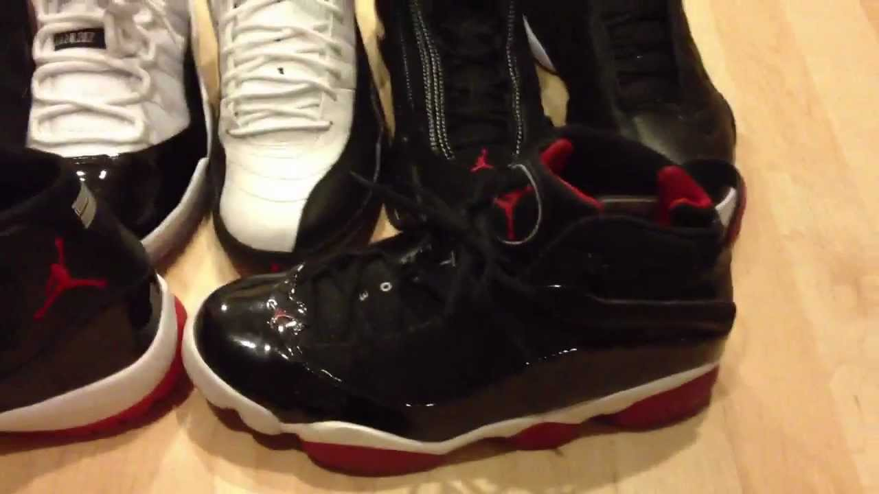 a8c90ada0041 What Shoes Combined Make Up The 6 Ring Air Jordans  - YouTube