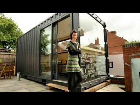 shipping container house conversion