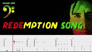bob-marley---redemption-song-bass-tabs-by-chami-s-arts