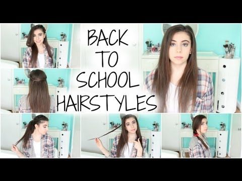5 Heatless Hairstyles for School! (Easy, Simple, Quick, & Unique ...