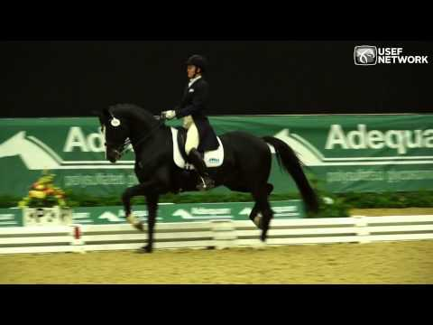 Emily Wagner & Wakeup in the Intermediate I Freestyle at USDFinals