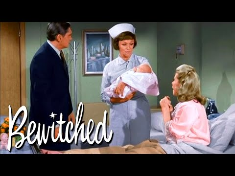 Baby Tabitha Is Born! | Bewitched
