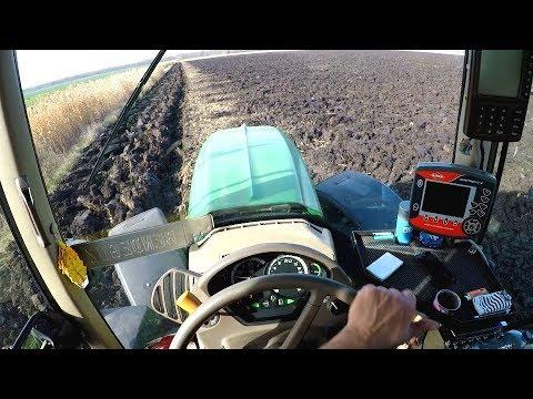 [GoPro] John Deere 6930P & Vogel | Cabins View | Szántás 2017