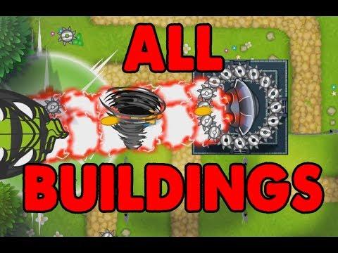 ALL SPECIALTY BUILDINGS UNLOCKED! Bloons TD 5