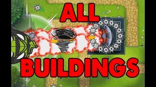 ALL SPECIALTY BUILDINGS UNLOCKED! Bloons TD 5