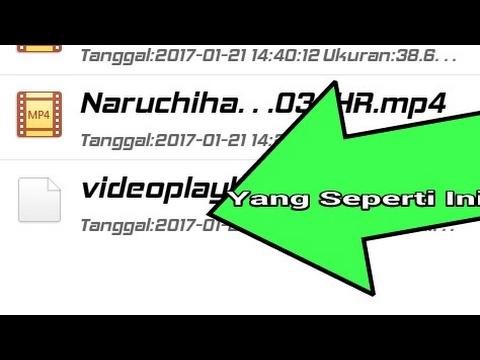 Cara Membuka VideoPlayback Di Android