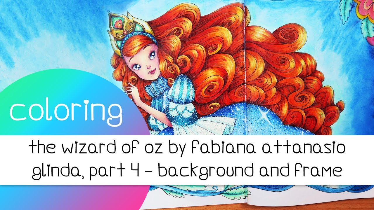 Coloring Book Journey - 028 The Wizard of Oz by Fabiana Attanasio ...