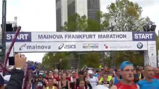 Start alle Läufer 36. Mainova Frankfurt Marathon 2017 Frankfurt #Bembeltown #FrankfurRunner