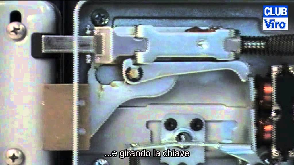 abbastanza Come funziona una serratura elettrica per accessi pedonali? - YouTube FH73