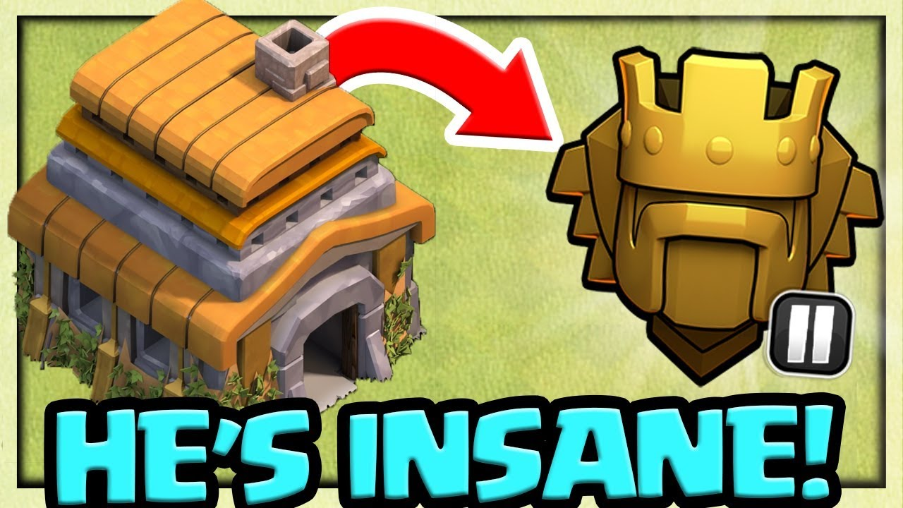 WORLD RECORD – Town Hall 6 in TITAN 2 in Clash of Clans – HOW He Did It!