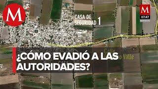 Las casas de 'El Marro' a través de las que se escabulló de operativos
