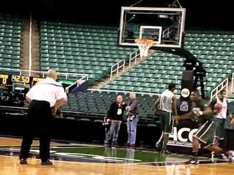 Miami Shootaround - Greensboro Coliseum