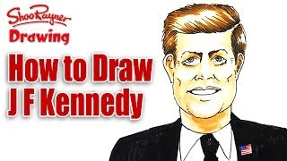 How to Draw John F Kennedy   Spoken Tutorial
