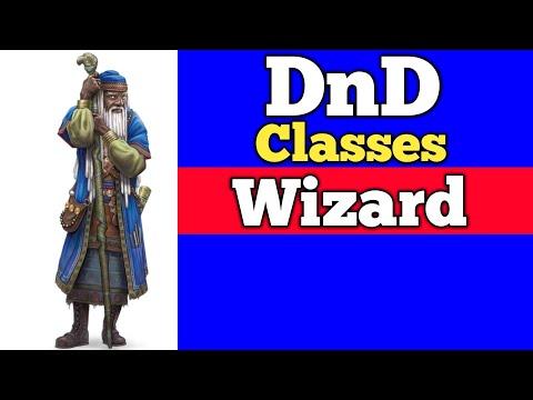 Wizard DnD 5e PHB Classes Mini-series! DnDaily #164 D&D and RPG