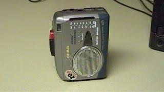 Aiwa JS175 Personal Stereo
