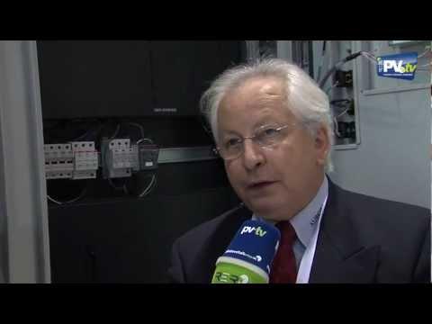 PV.TV Solar Photovoltaics  – Interview Power One Solar Power International 2012 ENG