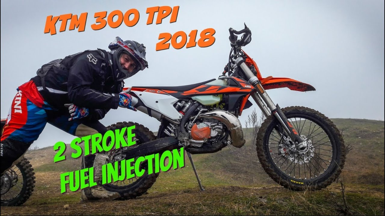 ktm 300 tpi 2018 first test and ride review 2stroke fuel injection dirtbike youtube. Black Bedroom Furniture Sets. Home Design Ideas