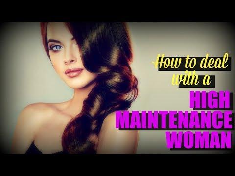 dating low maintenance woman