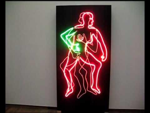 Image result for bruce nauman neon work