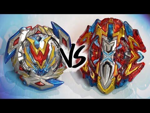 BATTLE: Buster Xcalibur .1'.Sw VS Winning Valkyrie .12.Vl - Beyblade Burst Super Z/Cho-Z