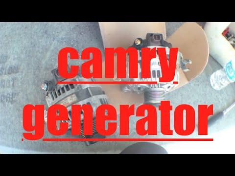 [EASY FOLLOW] Replace Alternator Generator Toyota Camry √ Fix It Angel