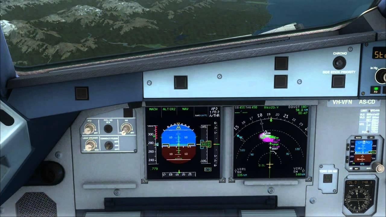 how to fly rnp aerosoft airbus