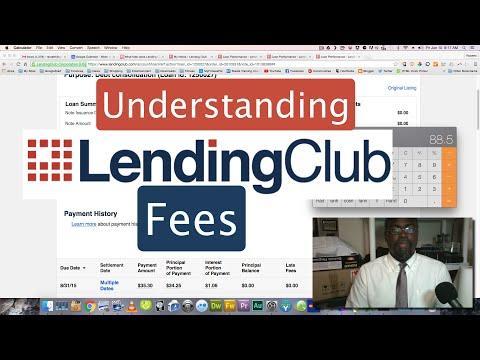 Understanding Lending Club Fees
