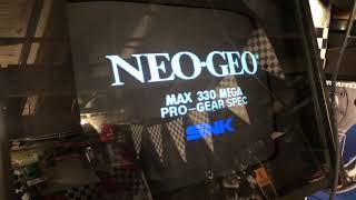 Why does this monitor do this ?Neo Geo MVS