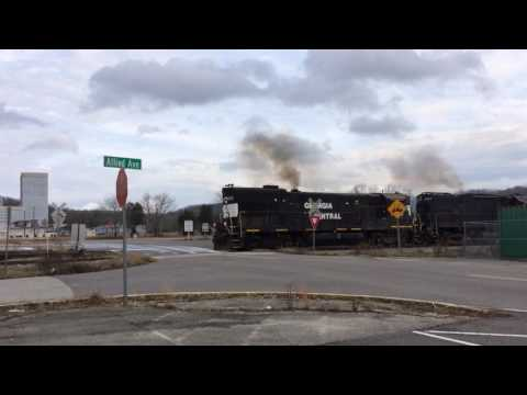 Moving freight on heritage railroad