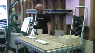 Domino Drawer Construction - Festool House Party - Glastonbury, CT - July 29, 2012