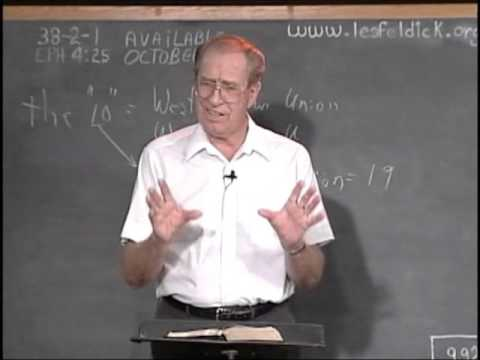 38 2 1 Through the Bible with Les Feldick  The Walk Of The Believer: Ephesians 4:25 - 5:6