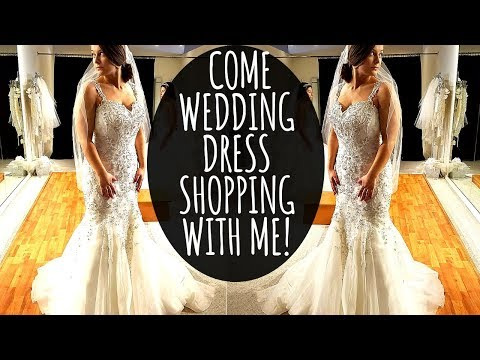 COME WEDDING DRESS SHOPPING WITH ME! | MY 21ST BIRTHDAY