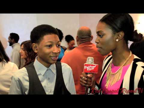 Ethan Dizon & Skylan Brooks at the 45th NAACP  Awards Nominee Luncheon naacpawards