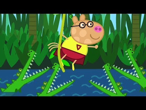 Peppa Pig English Episodes | Super Hero Pedro! | 1 HOUR | Cartoons for Children #158