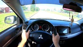 2008 Mitsubishi Lancer POV TEST Drive