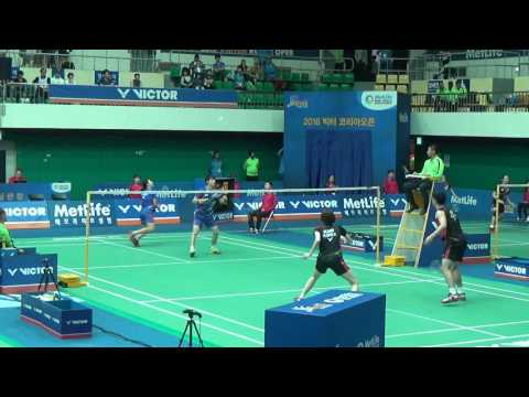 Victor Korea Open 2016   Badminton R16 XD   KO Sung Hyun/KIM Ha Na vs BAE Kwon Young/KONG Hee Yong
