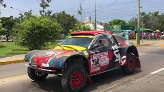 Fiesta Rally Dakar 2018 en el Pentagonito - San Borja - Lima - PERU