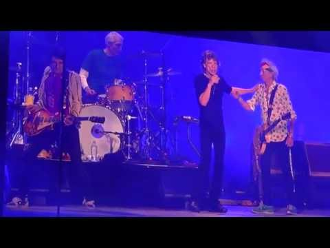 """Rolling Stones @Foro Sol Mexico City 3.17.16 """"Midnight Rambler"""" & """"Miss You"""""""