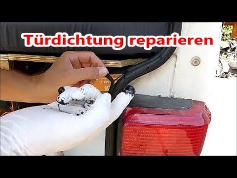 Top VW T4 Transporter -- Türdichtung reparieren - YouTube HH12