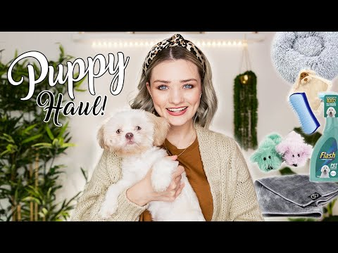 NEW PUPPY HAUL - Things You NEED For Your Puppy!