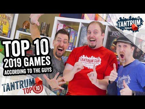 Top 10 Board Games 2019: Tantrum Guys