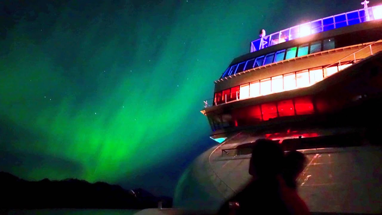 Northern Lights In Southeast Alaska