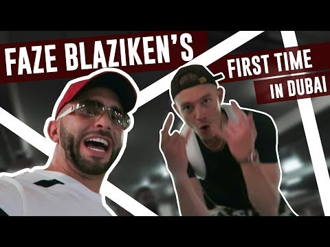 FAZE BLAZE & NICK CLEVELAND FIRST TIME IN DUBAI!!!