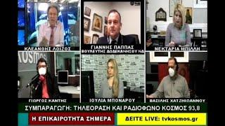 ΙΩΑΝΝΗΣ ΠΑΠΠΑΣ - TVKOSMOS (11-2-21)