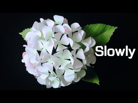 Abc tv how to make hydrangea paper flower from printer paper 2 abctvcraft paperflower mightylinksfo
