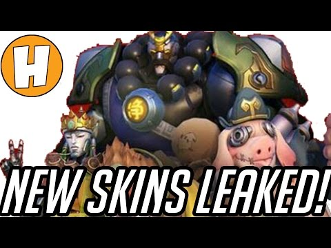 Overwatch Skins Leaked? NEW Journey To The West/Year of The Rooster Skin Lore & News!  | Hammeh