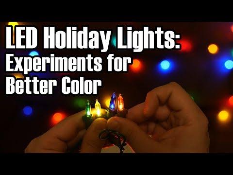 LED Experiments: Making Holiday Lights Less Garish