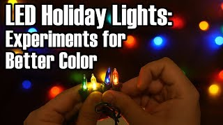 LED Experiments: Making Holiday Lights Less Garish